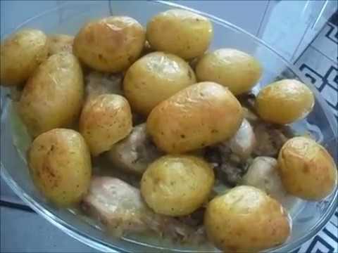 coxas-de-frango-assadas-com-batatas