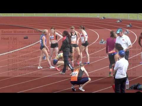 2016 South Of England Champs - Senior Women's 400 Metres