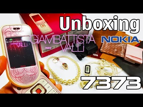 Nokia 7373 Giambatista Valli Edition Unboxing 4K with all original accessories RM-209 review