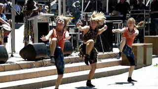 Dance to Quasi-Tribal Rhythm, Garema Place, Canberra, Summer 2010-2011