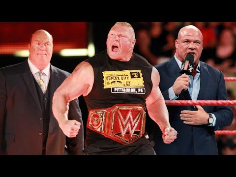 Will WWE Strip Brock Lesnar Of Universal Title Tonight?