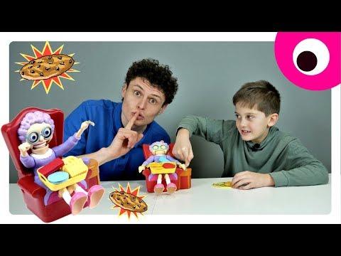 Эта бабуля не накормит тебя печеньками - Настольная игра Жадная бабуля | Игрушки для детей