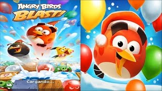 Angry Birds Blast Gameplay