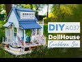 DIY Miniature DollHouse Beach Carribean Sea A037 Пляжный домик , сборка вручную
