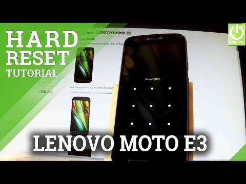 Hard Reset Motorola Moto E3 Power Hardresetinfo