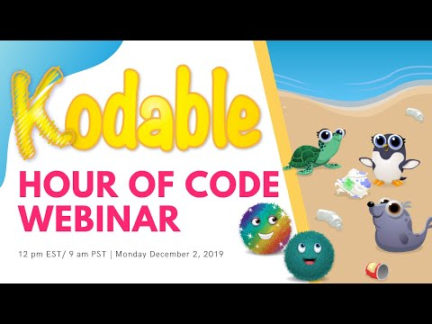 Kodable Hour Of Code Webinar 2019