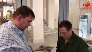 Голодающий офицер передал документы Татьяне Москальковой