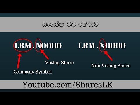 Share Market Symbols