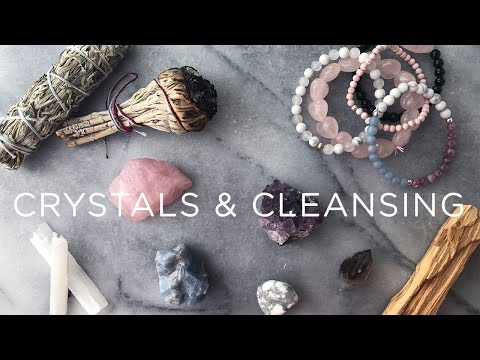 Healing Crystals + Cleansing Your Space | #LivAndLearnARMY