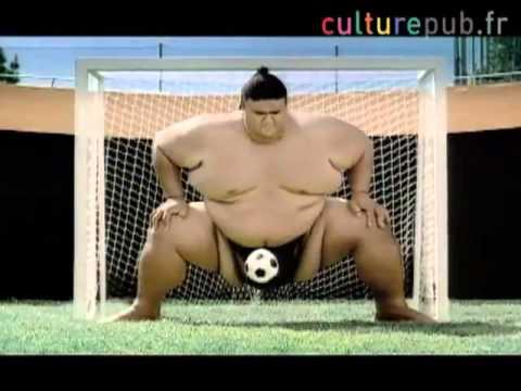 Sumo vs Beckham, Petit, Carlos Buffon Pepsi Reklamı