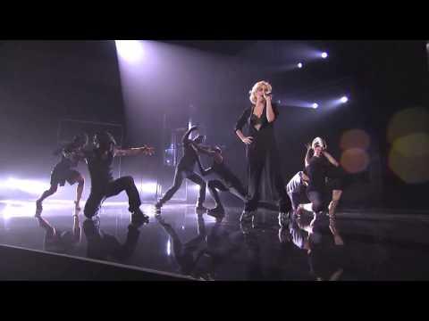 Lady GaGa - Rehearsal -  Bad Romance/Speechless AMA 2009