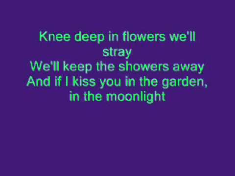 Tiny Tim - Tiptoe through the tulips lyrics