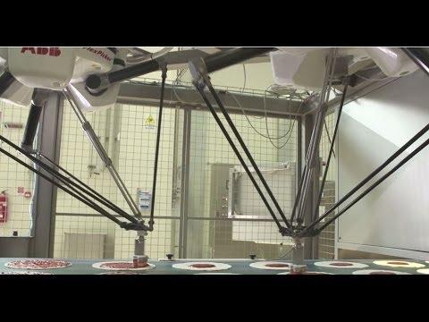 ABB Robotics - Pizza Making With ABB FlexPickers