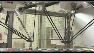 ABB Robotics - Pizza Making with ABB FlexPickers