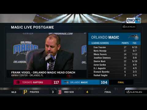 Frank Vogel --- Orlando Magic vs. Toronto Raptors 02/28/2018
