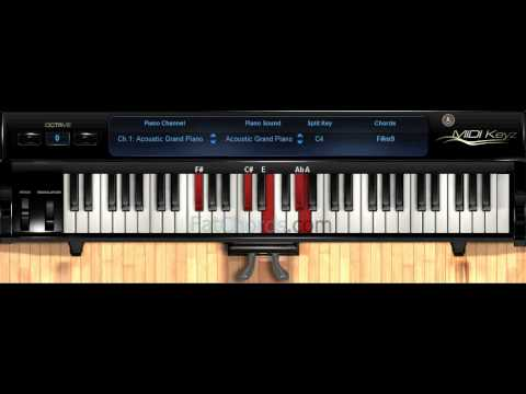 Piano piano chords soul : Fat Chords #13 - Piano Progression Voicings Phat Neo Soul Jazz ...
