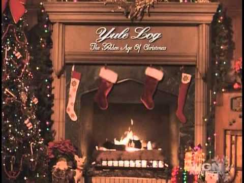 wgn tv hearth old time radio christmas 2 - Old Time Radio Christmas
