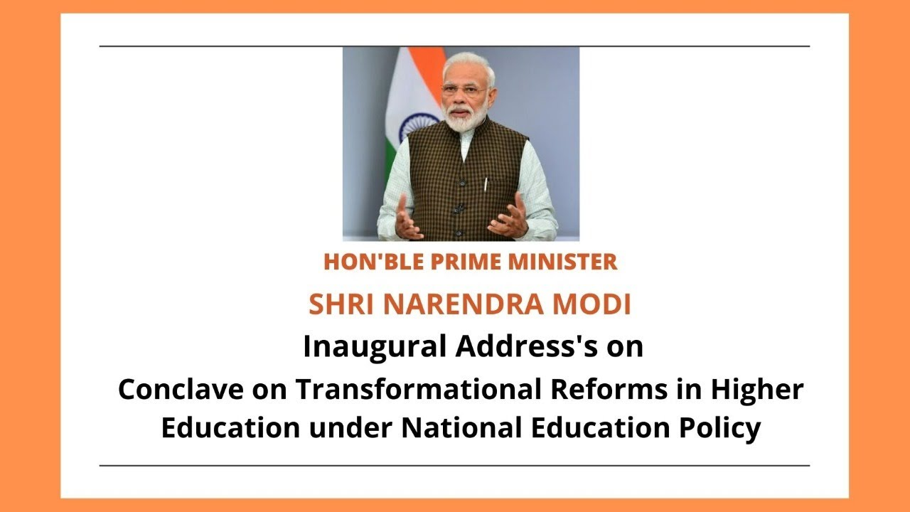 PM Modi's Inaugural address at Conclave on Transformational ...