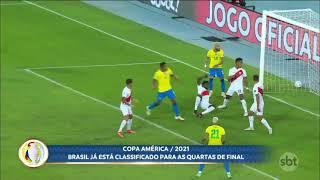 Seleção brasileira já está matematicamente classificada para as quartas da Copa América