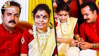 ഇനി വിജയ ലക്ഷ്മിക്ക് കൂട്ടായി അനൂപ്   Wedding bells for Vaikom Vijayalakshmi   Latest News