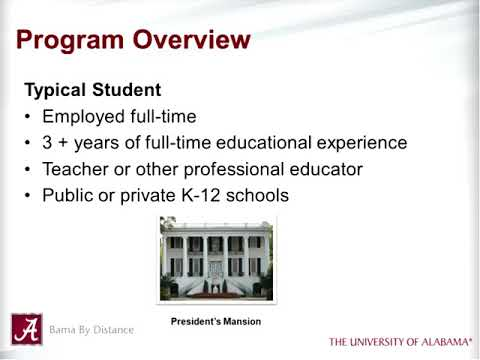 UA's Educational Leadership Programs