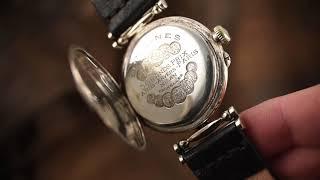 Видео обзор часов Longines. (Часы Марьяж).