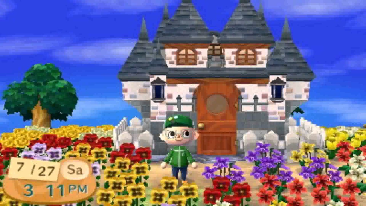 Different House Styles Animal Crossing New Leaf