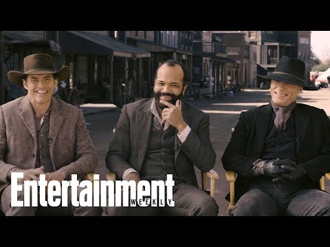 'Westworld' Cast Opens Up About Working With Anthony Hopkins  Cover Shoot  Entertainment Weekly