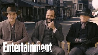 'Westworld' Cast Opens Up About Working With Anthony Hopkins | Cover Shoot | Entertainment Weekly