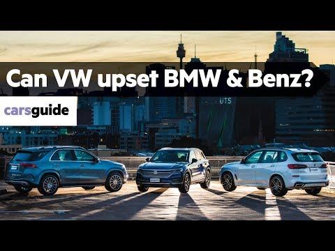 Best Luxury SUV Australia: BMW X5 vs Mercedes GLE vs VW Touareg