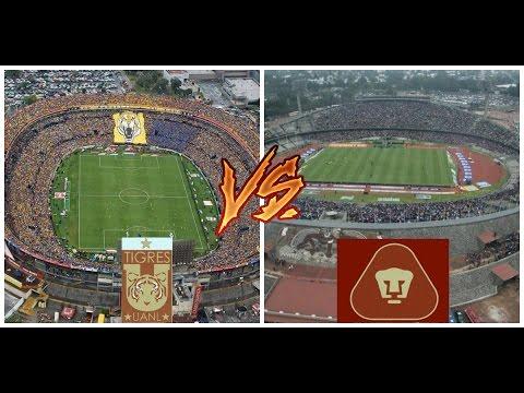 Estadio universitario vs Olimpico universitario