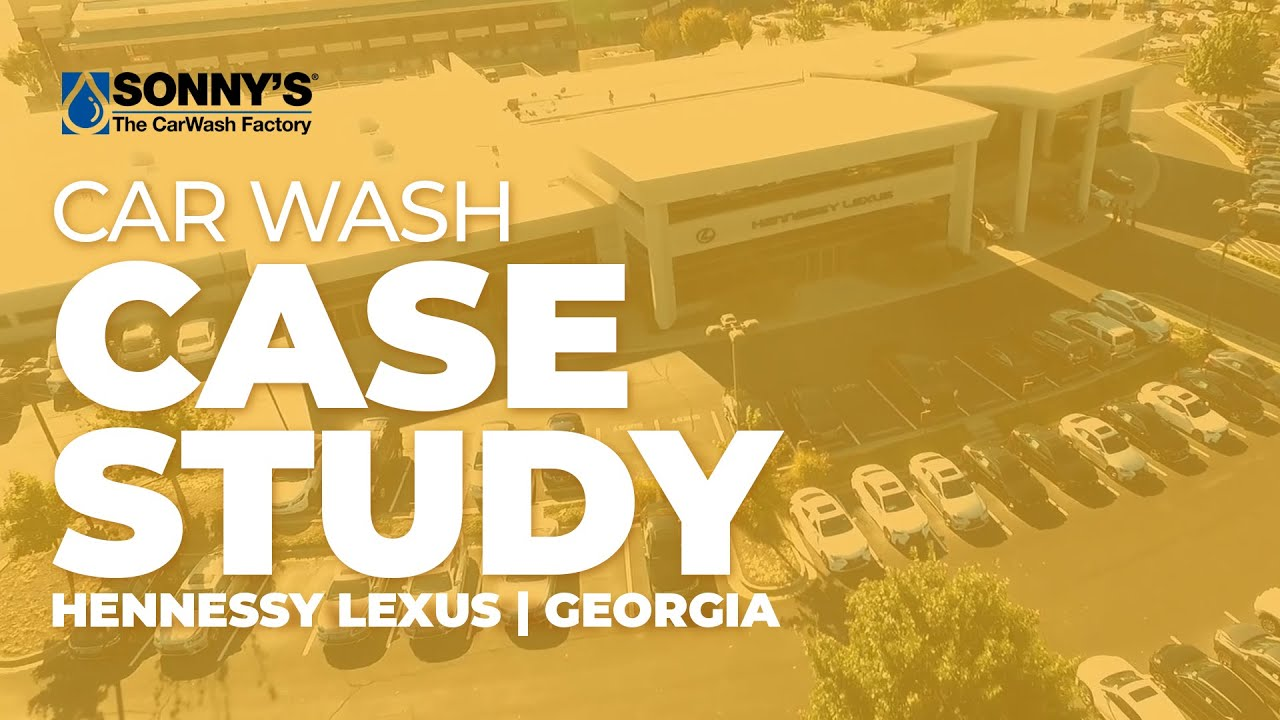 Auto Dealer Car Wash Case Study Hennessy Lexus Youtube