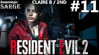 Zagrajmy w Resident Evil 2 Remake PL | Claire B | odc. 11 - Koniec kampanii Claire 2nd | Hardcore