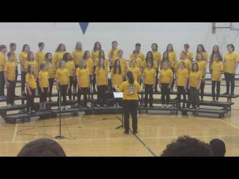 Selah middle school choir