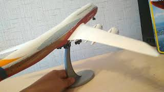 обзор готовой модели boieng 747-8 zvezda 1/144