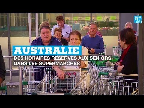 Coronavirus en Australie: des horaires réservés aux seniors dans les supermarchés