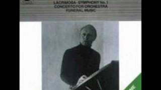 Witold Lutoslawski Lacrimosa.