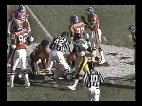 Pittsburgh Steelers vs Denver Broncos 1989 AFC Playoffs