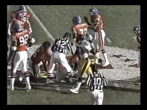 Pittsburgh Steelers vs Denver Broncos 1989 AFC Playoffs
