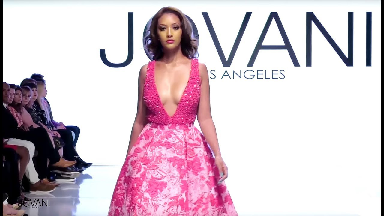 Jovani Prom Dresses Springsummer 2018 Los Angeles Show Youtube