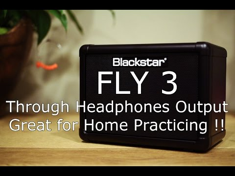 Blackstar Fly 3 Through Headphones Output, Jammin' with MP3 Input