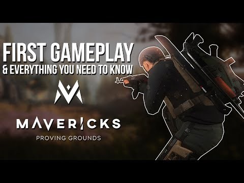 FIRST GAMEPLAY OF MAVERICKS: PROVING GROUNDS & Everything You Need To Know - NEW Battle Royale Game