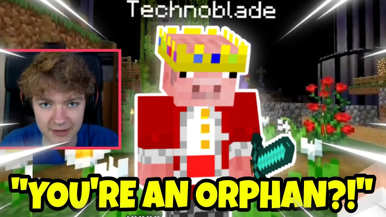 Tommyinnit TELLS Technoblade that he is an ORPHAN.. (DreamSMP)