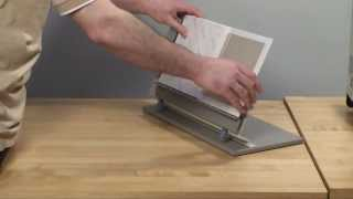 How To Make A Hard Cover Book With A Perfect Binding Machine