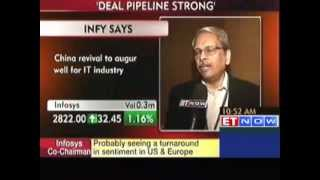 Economic recovery in China, India will augur well for IT industry : Infy