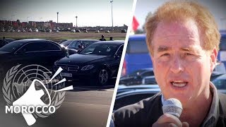 Luxury Cars Fill UN Migration Conference Lot | David Menzies
