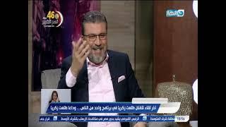 طلعت زكريا يكشف عن أمنيته اللى مقدرش يحققها وكواليس اشهر مشهد جمعة بعادل امام قول حاحا