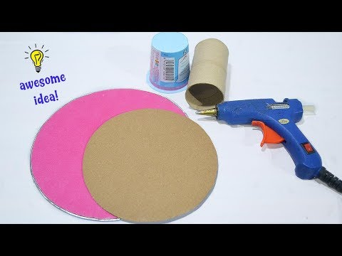 Waste material craft idea| Best EasY Craft idea with cardboard| How to reuse waste materials