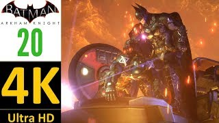 4K/60fps-Batman Arkham Knight(World Record):Part 20-Cloudburst Tank(Hard/No Damage/No Upgrades).