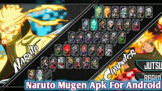 DOWNLOAD New Mugen Style Apk Naruto X Team For Android